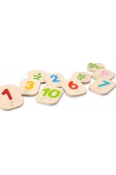 Braille numbers 1-10 plantoys ref.5654
