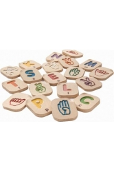 Hand sign alphabet a-z plantoys ref.5672