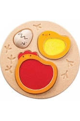 Chicken puzzle plantoys ref.5673
