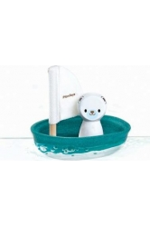 Sailing boat - polar bear plantoys ref.5712