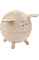 Piggy bank white plantoys ref.8611