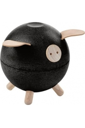 Piggy bank black plantoys ref.8613